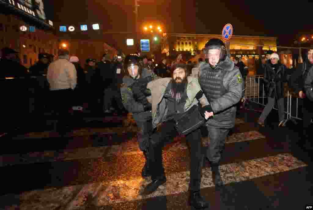 Москва: протестные акции 4 декабря