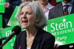 """Jill Stayn, """"Yashillar"""" partiyasidan 2012-yil prezident saylovlariga nomzod"""