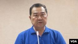 台湾在野党国民党立委徐志荣(美国之音张永泰拍摄)