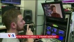 """Rusija: """"Stranim agentima"""" označavaju se svi novinari koji sarađuju sa stranim medijima"""