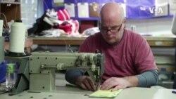 緬因州縫製船帆的小企業製口罩抗疫