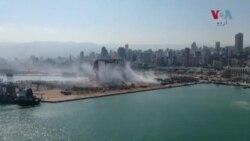 بیروت: دھماکے سے کئی عمارتیں کھنڈرات میں تبدیل