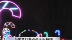 马里兰灯展点亮圣诞精神
