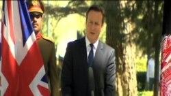 英首相突訪阿富汗 與加尼總統會談