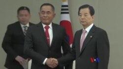 印尼南韓防長會晤 談合作與北韓問題
