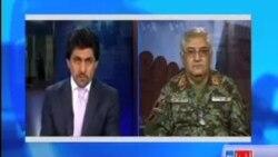 د دفاع وزارت د مطبوعاتي دفتر مرستیال جنرال حبیب الرحمان فاضل سره د آشنا تلویزیون مرکه