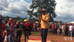 Tendai Biti Campaigning for MDC Alliance Presidential Candidate Nelson Chamisa in Mashonaland West