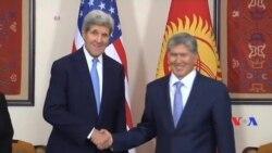 Secretary Kerry meets President Atambayev, Bishkek, Oct 31 2015