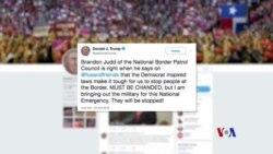 特朗普聲稱派遣軍隊前往邊境防止大篷車進入美國