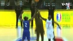 Basketball Africa League: actions décisives du match entre Patriots et Rivers Hoopers.