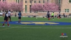 American Physicians Hit Soccer Field to Promote Health