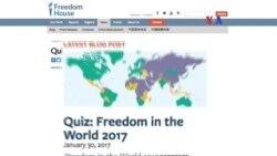 Venezuela se suma a países sin libertad