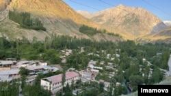 Shohimardon has a population of about 10,000, Ferghana region, Uzbekistan. (Navbahor Imamova/VOA)