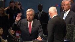 ONU juramenta nuevo Secretario General