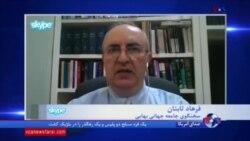 فرهاد ثابتان: گزارش آزادی مذهبی آمریکا فشار بر جمهوری اسلامی را افزایش میدهد