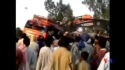 2014-04-20 美國之音視頻新聞: 巴基斯坦南部車禍 至少42人死亡