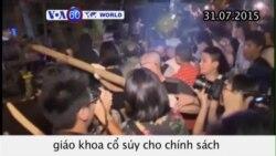Sinh viên Đài Loan phản đối giáo khoa cổ suý 'Một Trung Quốc' (VOA60)