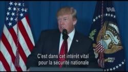 """Trump appelle à l'union contre les """"massacres"""" et le """"terrorisme"""" en Syrie (vidéo)"""
