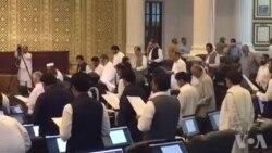خیبر پختونخوا اسمبلی کے نومنتخب ارکان کا حلف