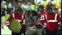 Tai nạn phà ở Hồng Kông, hàng trăm người bị thương