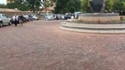 Mnangagwa Arriving in Style At Zanu PF Headquarters ...