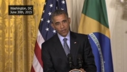 President Barack Obama on the Iran nuclear negotiations