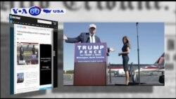 """Ông Trump """"hành quân thần tốc"""" trước ngày bầu cử (VOA60)"""