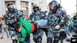 Акция протеста в Москве. 10 августа 2019 г.