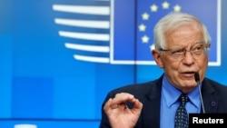 Josep Borrell, Yevropa Ittifoqi Tashqi ishlar vaziri