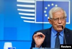 AB Dış İlişkiler Yüksek Temsilcisi Josep Borrell