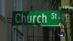 美黑人教堂枪击案促使社会团结
