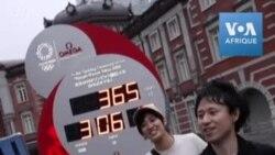 A Tokyo, l'horloge du compte à rebours redémarre à un an des JO