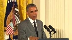 美中元首会晤 专家促奥巴马立场坚定