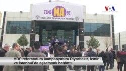 HDP'de Genel Başkansız 'Hayır' Kampanyası