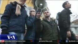 Protesta e studentëve në Shqipëri
