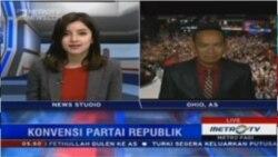 Laporan Langsung VOA untuk Metro TV: Hari Kedua Konvensi Partai Republik