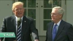 """VOA连线:川普:我跟国会有""""超棒的关系"""""""