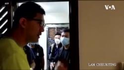 兩名香港民主黨議員因去年721元朗襲擊事件被捕