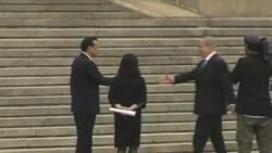Israeli, Palestinian Leaders Visit China Separately