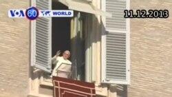 Đức Giáo Hoàng được tạp chí TIME chọn là 'Nhân vật của năm' (VOA60)