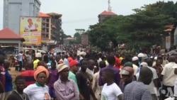 Marche de l'opposition en Guinée (vidéo)