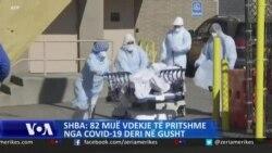 SHBA: Rreth 82 mijë vdekje të pritshme nga COVID-19 deri në gusht