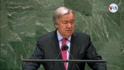 Comienza la 76ª Asamblea General de la ONU