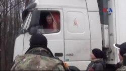 Nga chặn xe tải Ukraine tiến vào lãnh thổ