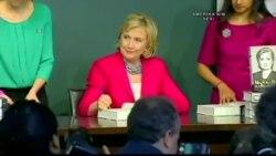 Hillary Clinton'dan İmza Günleri