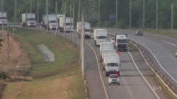 Russian Convoy Enroute to Ukraine Raises Suspicions in Ukraine, West
