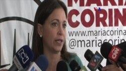 """Machado: Maduro hace """"lo que le da la gana"""""""