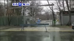 VOA60 America - Moscow will not expel U.S. diplomats in response to sanctions imposed Thursday by President Barack Obama