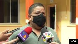 Alexander Leiva, de la Secretaría de Trabajo de Honduras.
