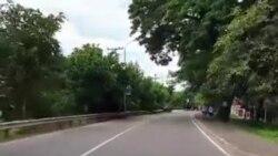 Video Lockdown in Vientiane Laos 9-21-21